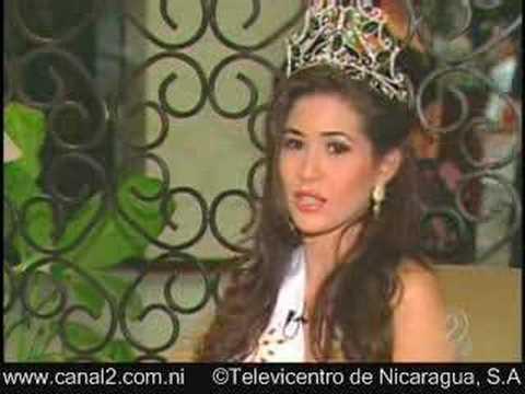 ENTREVISTA MISS NICARAGUA 2007-XIOMARA BLANDINO