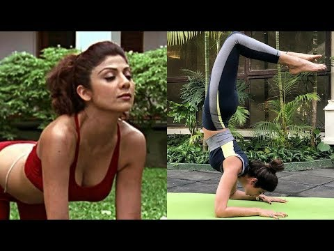 Shilpa Shettys Quick Fix Yoga    Shilpa Shetty Hot Yoga 2018    BollywoodGossip Studio