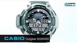Reloj Casio Outgear SGW400 Acero - www.CompraFacil.mx