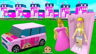 Barbie Cars & Dream Houses ! Random Roblox Games Let's Play Video