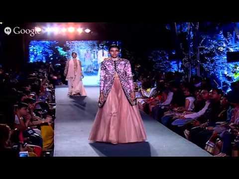 Wevolve presents The Blue Runway by Manish Malhotra | Lakmé Fashion Week Summer/Resort 2015