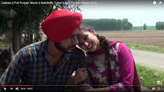 Zakham    Full Punjabi Movie    BalleBalle Tunes    New Punjabi Movie 2016