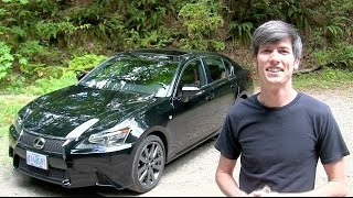 2014 Lexus GS350 F Sport - Review & Test Drive