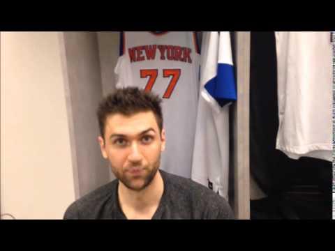Andrea Bargnani parla del momento dei suoi Knicks e sul suo furuto
