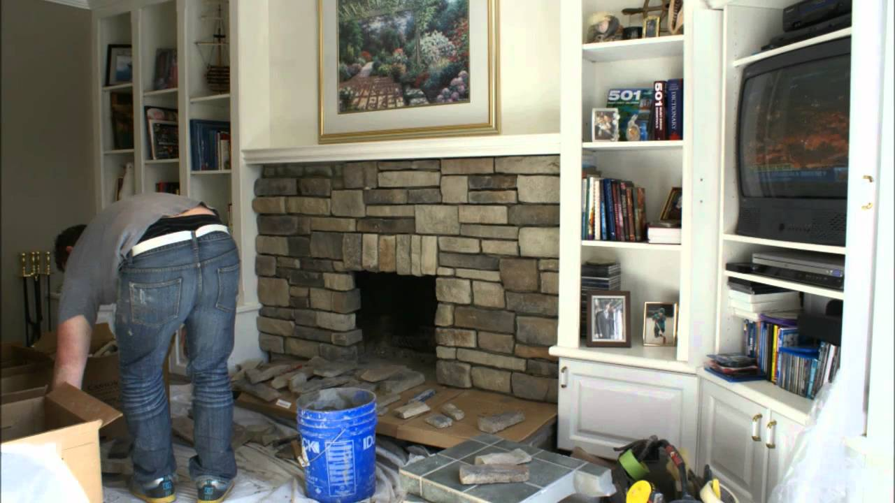 Fireplace Reface February 11 2011 Youtube