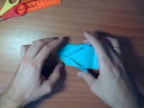 Оригами - Гоночный автомобиль