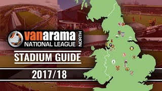 Vanarama National League NORTH Stadiums 2017/18