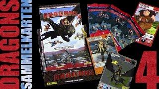 Dragons - Panini ® Trading Card Game - Sammelkarten Box Unboxing 4 / 2015 Re-Upload