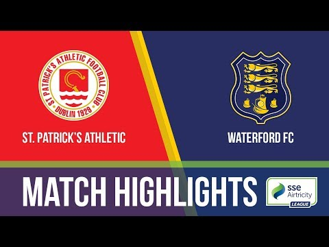 GW33: St.Patrick's Athletic 0-2 Waterford