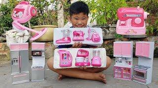 Trò Chơi Lao Công Làm Bếp ❤ ChiChi ToysReview TV ❤ Đồ Chơi Trẻ Em Baby Toys Kids Song