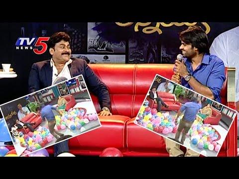 Sai Dharam Tej Dance & Fun At Chiranjeevi Interview | Chiranjeevi Birthday Special | TV5 News