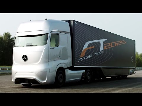 Mercedes-Benz Future Truck 2025 | World Premiere