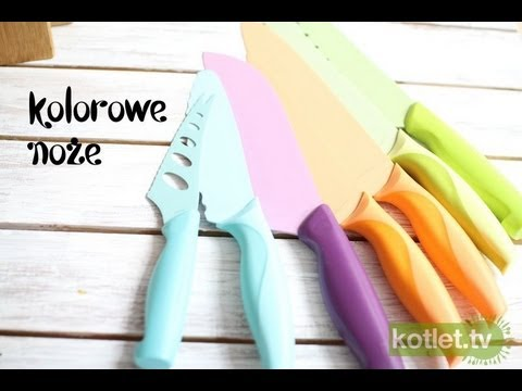 Recenzja kolorowych noży Neoflam - Kotlet.TV