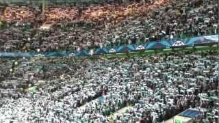 BEST FOTBALL ATMOSPHERE EVER!! - CELTIC vs FC BARCELONA - 'You'll Never Walk Alone'