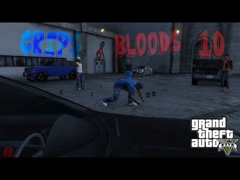 GTA 5 Crips & Bloods Part 10 [HD]