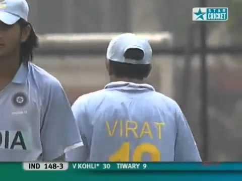 Virat Kohli, Legend in making First 100 in U19 Cricket World cup