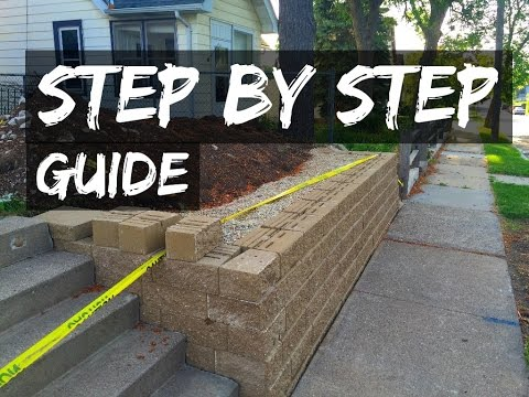 How to build a retaining wall for cheap how to save for Cheapest way to build a house yourself