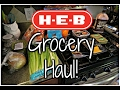 HEB Grocery  Haul for $158