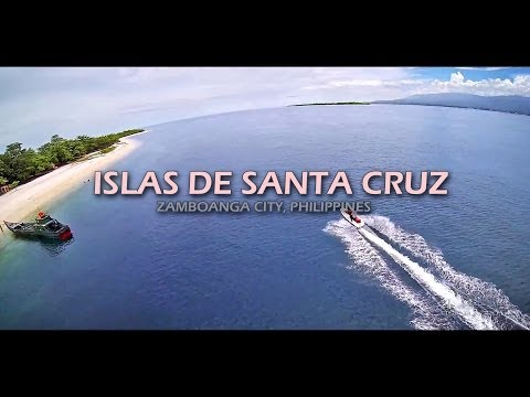 The Great & Small Santa Cruz Island Zamboanga City Philippines [tbs Discovery Fpv Quadcopter] video