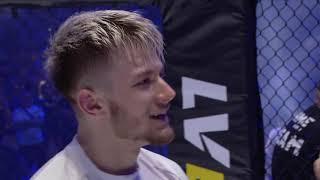 FAME MMA 4: Polak (wywiad w oktagonie)