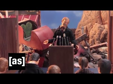 RollerCoaster Psycho | Robot Chicken | Adult Swim