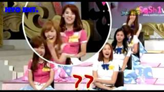 SNSD can't stand laughing at Hyoyeon's Jokes :)