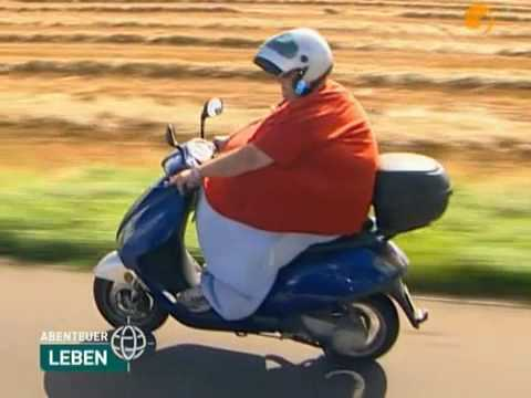 Fat Woman on a scooter( Born to be wild) Video