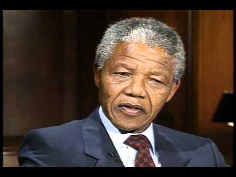 Newsmaker Interview: Nelson Mandela, 1990