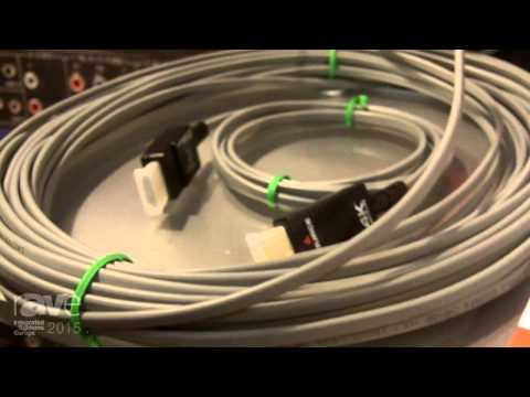 ISE 2015: Hall Research Introduces the 4K Javelin Copper Fiber Hybrid Cable