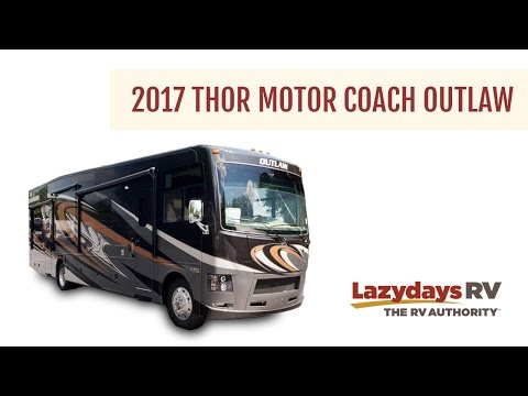 2017 Thor Motor Coach Outlaw Video Tour from Lazydays