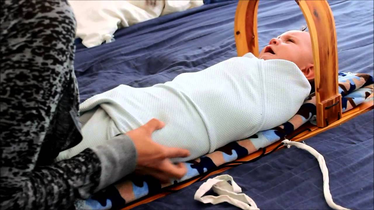 How To Put Your Baby In A Navajo Cradleboard Youtube