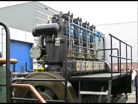 very big industrie diesel engine