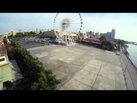 FPV Quadcopter – TBS Discovery – Bangkok – Chao Phraya River – DJI Naza-M Lite & GPS – Dragonlink