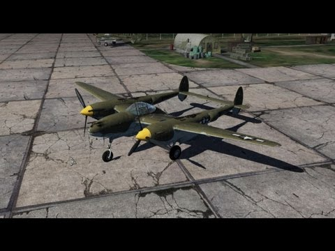 War Thunder Plane Analysis: P-38G Lightning