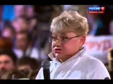 Спасибо, Вова! Журналистка поблагодарила Путина