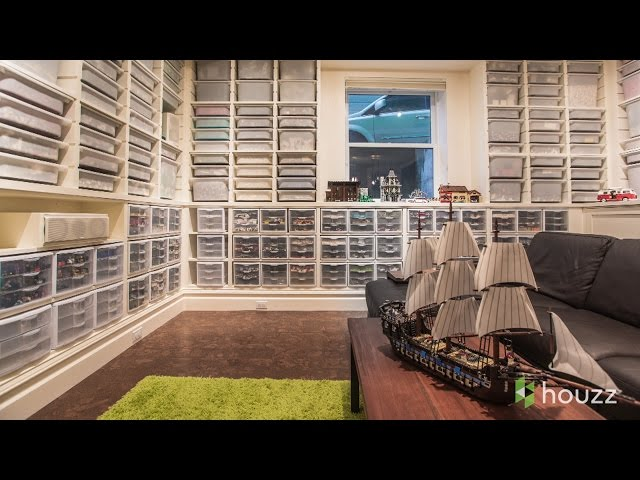 Everything Is Awesome in This Guy's Lego-Filled Basement Remodel