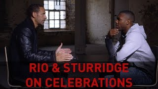 RIO & STURRIDGE... CELEBRATION DEBATE #CelebratewithPringles