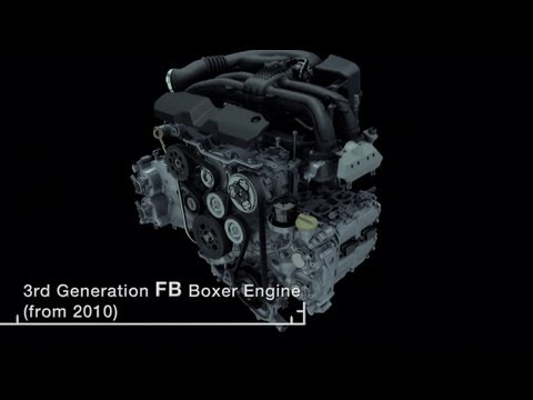 [SUBARU] SUBARU WOW! 09: History of the Boxer Engine