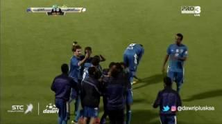 هدف الفتح الأول ضد الباطن (حمدان الحمدان) في الجولة 10 من دوري جميل