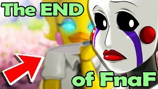 Yandere Chica ENDS PUPPETS LIFE! Fnaf ANIME END! - (Five Nights at Freddy's Ultimate Custom Night)