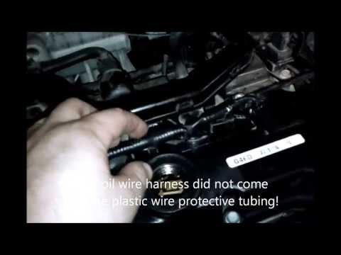 2009 Hyundai Accent GLS 1.6L DOHC defective coil wire harness design