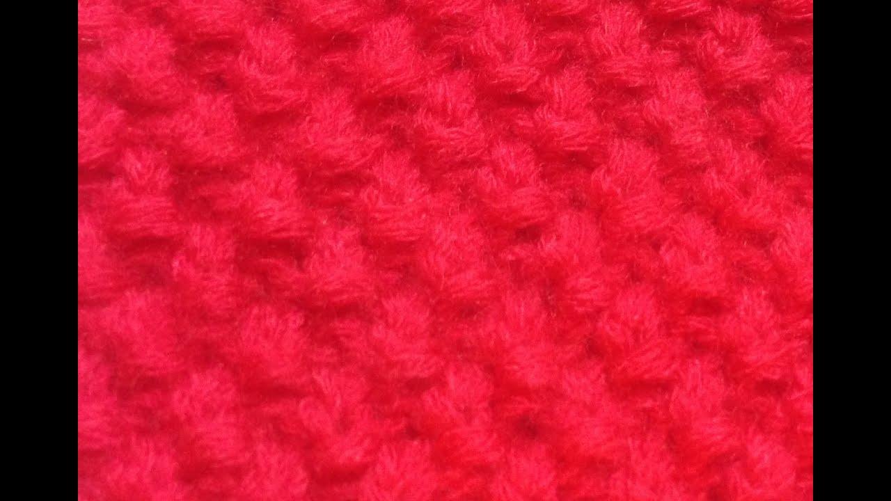 Вязание спицами узор букле