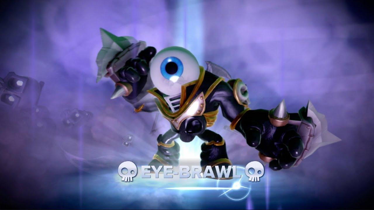 Skylanders Swap Force Arena Mode Eye Brawl Solo