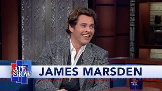 "James Marsden Honestly Does Not Know What Is Happening On ""Westworld"""