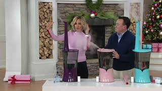 Air Innovations Clean Mist Top Fill Humidifier with Aroma Pads on QVC