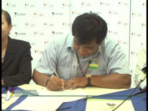PREFECTURA TRANSFIRIO COMPETENCIAS PRODUCTIVAS AL MUNICIPIO DE TAISHA