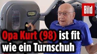 98-Jähriger ist eine absolute Maschine – trainiert zweimal die Woche