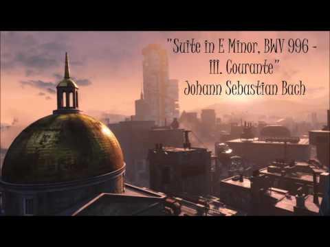 Бах Иоганн Себастьян - Lute Suite In E Minor Bwv 996 3 Courante