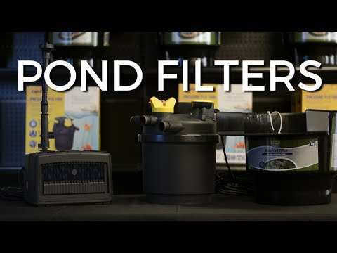 POND FILTERS - 3 Main Types