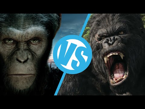 King Kong(2005) VS Rise of the Planet of the Apes : Movie Feuds ep82